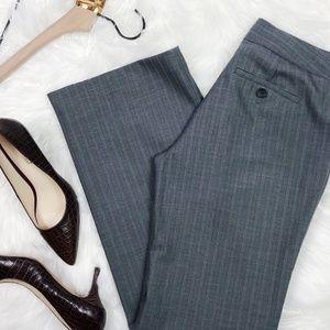 [BANANA REPUBLIC] Gray Pinstripe Dress Pants